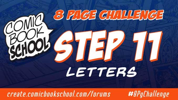 Forum header for Step 11 Letters