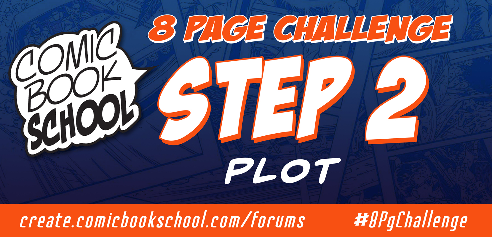 Forum header for Step 2 now live