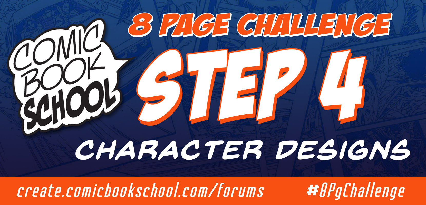Step 4 Character Designs header graphic